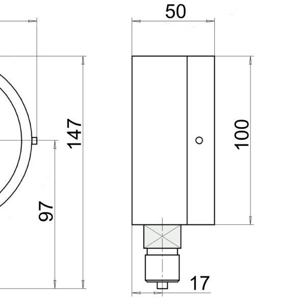 ВП3А-У2 чертеж