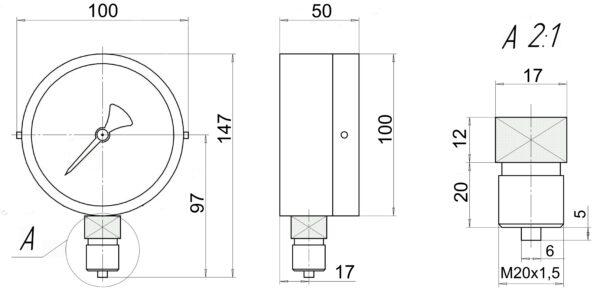 МВП3-У2 чертеж