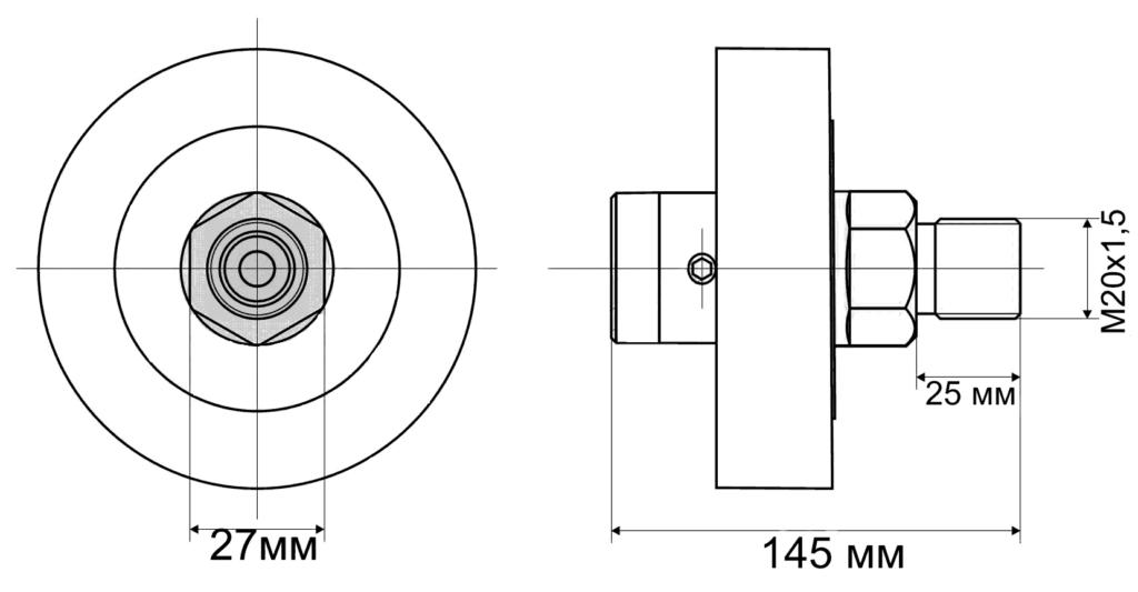чертеж мембранного разделителя
